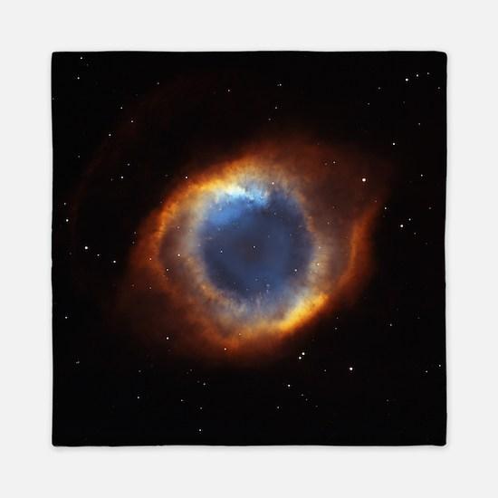 Helix Nebula (High Res) Queen Duvet