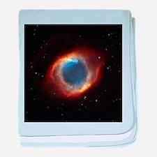 Helix Nebula (High Res) baby blanket