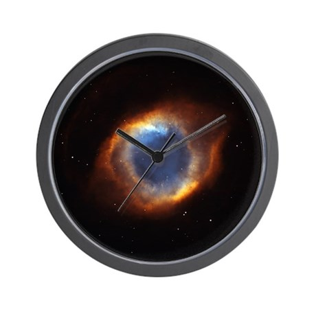 Helix Nebula (High Res) Wall Clock