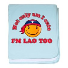 Cute and Lao baby blanket