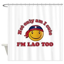 Cute and Lao Shower Curtain