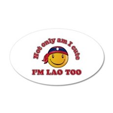 Cute and Lao Wall Decal