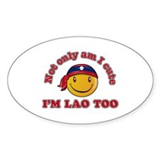 Cute and Lao Decal