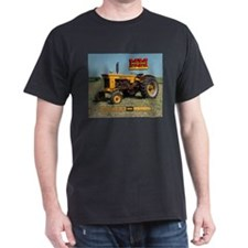 Minneapolis Moline Tractor Black T-Shirt