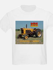 Minneapolis Moline Tractor Kids T-Shirt