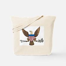 Bald Eagle Seal Tote Bag