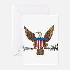 Bald Eagle Seal Greeting Cards (Pk of 10)