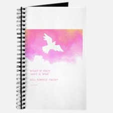 What if they gave a war (Pink) Journal