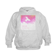 What if they gave a war (Pink) Kids Hoodie