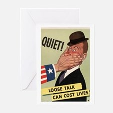 QUIET Greeting Cards (Pk of 10)