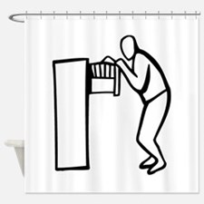 Office Shower Curtain