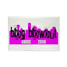 Blog Blowout 2006 Rectangle Magnet