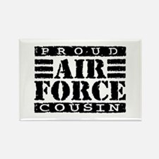 Proud Air Force Cousin Rectangle Magnet