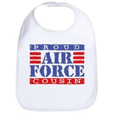 Proud Air Force Cousin Bib