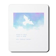 What if they gave a war (Blue) Mousepad