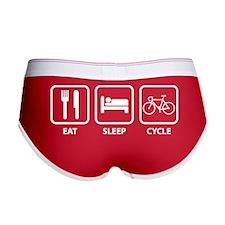 Eat Sleep Cycle Women's Boy Brief