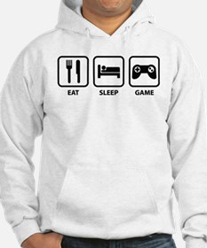Eat Sleep Game Jumper Hoody