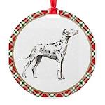 Dalmatian Round Ornament