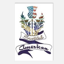 Scottish American Thistle Postcards (Package of 8)