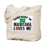 Somebody In Mauritania Tote Bag