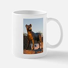 Bronze dog Mugs