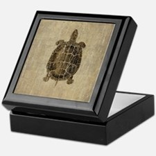 Vintage Turtle Keepsake Box