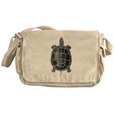 Vintage Turtle Messenger Bag