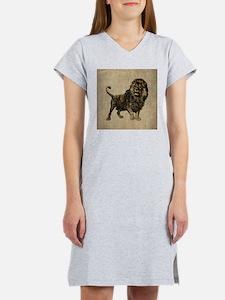 Vintage Lion Women's Nightshirt