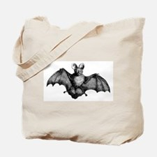 Vintage Bat Tote Bag