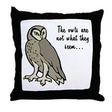 The Owls Throw Pillow