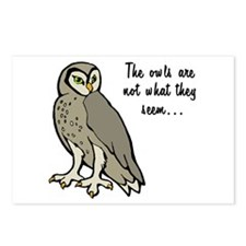 The Owls Postcards (Package of 8)