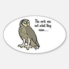 The Owls Decal