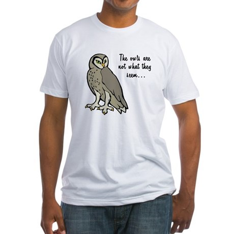 The Owls Fitted T-Shirt