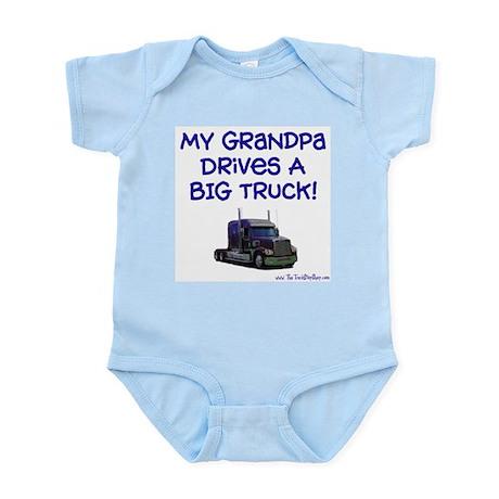My Grandpa drives... Infant Creeper