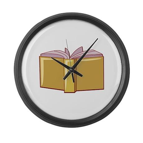 Book Large Wall Clock
