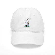 Dalmatian Cartoon Baseball Cap
