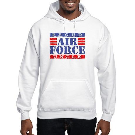Proud Air Force Uncle Hooded Sweatshirt