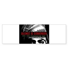 Silence is Surrender Bumper Bumper Sticker