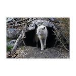 Wolf Den Mini Poster Print