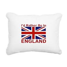 England Lover Rectangular Canvas Pillow