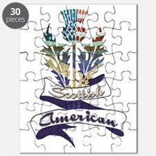 Scottish American Thistle Puzzle