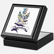 Scottish American Thistle Keepsake Box
