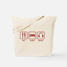 Eat Sleep Music Tote Bag