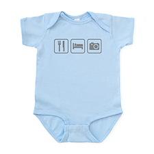 Eat Sleep Photography Infant Bodysuit