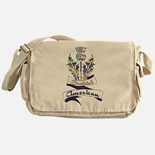 Scottish American Thistle Messenger Bag