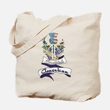 Scottish American Thistle Tote Bag