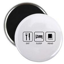 Eat Sleep Read Magnet