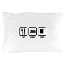 Eat Sleep Read Pillow Case