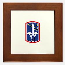 SSI - 172nd Infantry Brigade Framed Tile