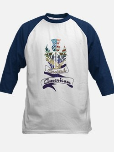 Scottish American Thistle Tee